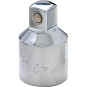 """Gray Tools Chrome Adapter, 1/2"""" Female X 3/8"""" Male"""