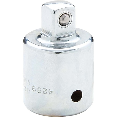 Gray Tools Chrome Adapter, 1/2