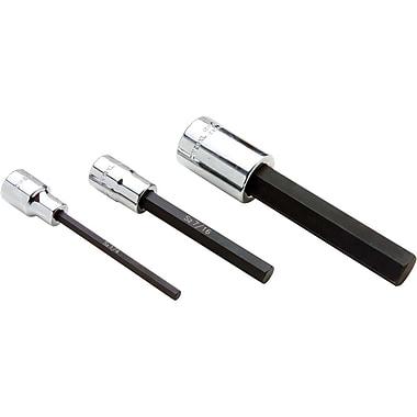 Gray Tools Extra Long Hex Head, Chrome Finish Sockets