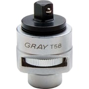 Gray Tools – Cliquet adaptateur réversible 3/8 po, de 2 1/4 po de long