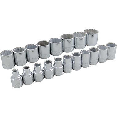 Gray Tools 19 Piece 3/8