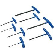 Gray Tools – Ensemble de 8 clés hexagonales métriques à poignée en T, 2 à 10 mm