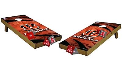 Tailgate Toss NFL Cornhole Set; Cincinnati Bengals