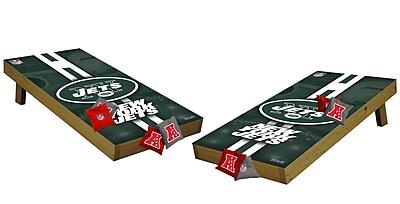 Tailgate Toss NFL Cornhole Set; New York Jets