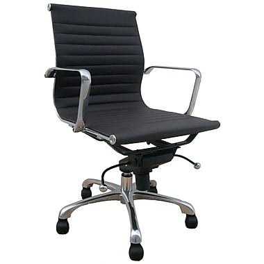 Creative Images International Desk Chair; White