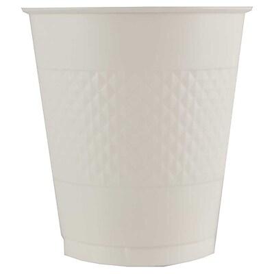 JAM Paper® Plastic Cups, 12 oz, White, 20/pack (2255520710)