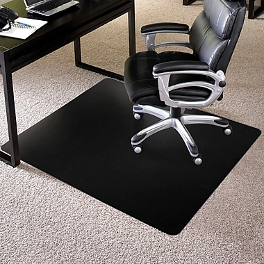 ES Robbins Rectangle Chair Mat, Low Pile Carpet Application, 36