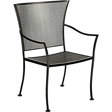 Woodard Amelie Stacking Patio Dining Chair; Espresso