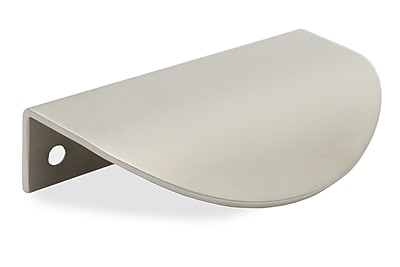 Schwinn Hardware 2 1/2'' Center Finger Pull; Satin Nickel
