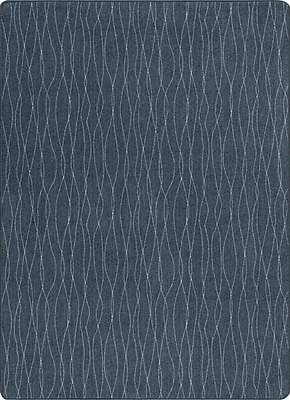 Milliken Imagine Flow Dark Lagoon Area Rug; Rectangle 3'10'' x 5'3''