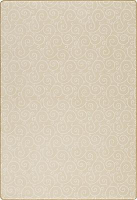 Milliken Imagine Lyrical Buttercup Area Rug; Rectangle 7'8'' x 10'9''