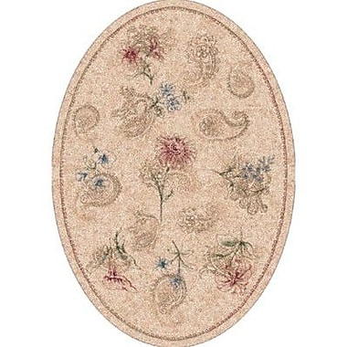 Milliken Pastiche Vintage Almond Oval Rug; Oval 3'10'' x 5'4''