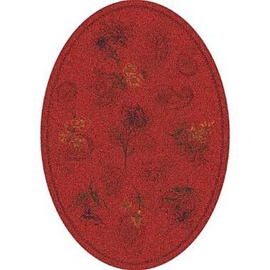 Milliken Pastiche Vintage Aurora Oval Rug; Oval 3'10'' x 5'4''