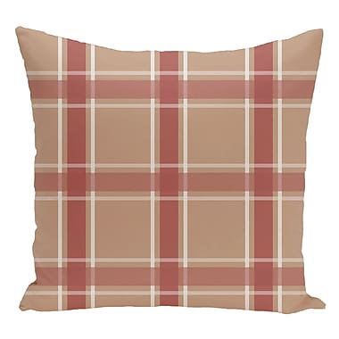 e by design Decorative Floor Pillow; Brown/Orange