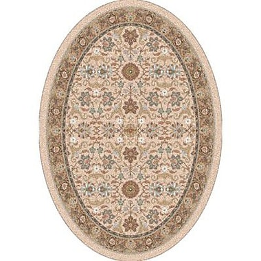 Milliken Pastiche Kamil Acorn Traditional Oval Rug; Oval 3'10'' x 5'4''