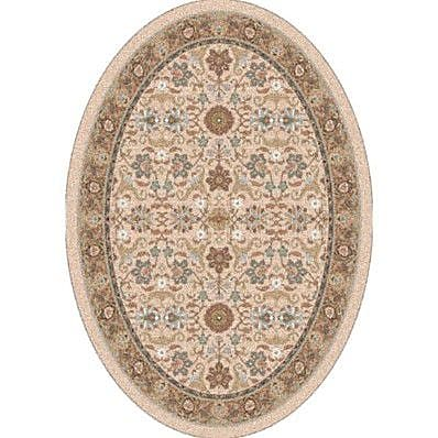 Milliken Pastiche Kamil Acorn Traditional Oval Rug; Oval 7'8'' x 10'9''