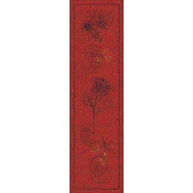 Milliken Pastiche Vintage Aurora Red Runner; Rectangle 2'1'' x 7'8''
