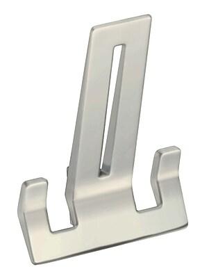 Schwinn Hardware Wall Mounted Hook; Satin Nickel