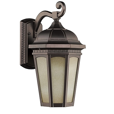 Chloe Lighting Telsa 1-Light Outdoor Wall Lantern; 13'' H x 6.25'' W x 9'' D