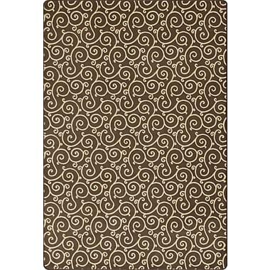 Milliken Imagine Lyrical Henna Area Rug; Rectangle 5'3'' x 7'8''