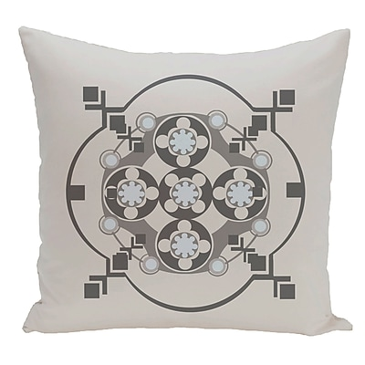 e by design Decorative Floor Pillow; Gray