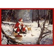 Milliken RJ McDonald Christmas Party Area Rug; Rectangle 3'10'' x 5'4''
