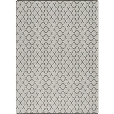 Milliken Imagine Essex Aged Silver Area Rug; Rectangle 7'8'' x 10'9''