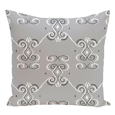 e by design Decorative Floor Pillow; Gray