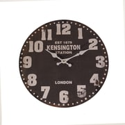 American Mercantile 13'' Wood Wall Clock