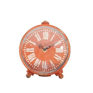 American Mercantile Metal Table Clock