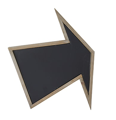 American Mercantile Wood Arrow Wall Mounted Chalkboard