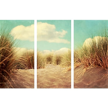 Marmont HIll 'Solitude Triptych' Painting Print on Wrapped Canvas; 40'' H x 60'' W
