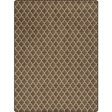 Milliken Imagine Essex Espresso Area Rug; Rectangle 2'1'' x 7'8''