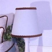 Brandee Danielle 8'' Cotton Empire Lamp Shade; Blue Gingham