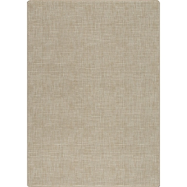 Milliken Imagine Broadcloth Beige Area Rug; Rectangle 2'1'' x 7'8''