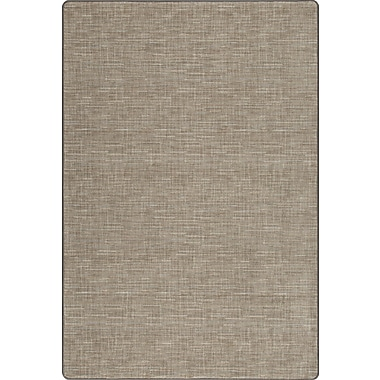 Milliken Imagine Broadcloth Silvered Taupe Area Rug; Rectangle 3'10'' x 5'3''