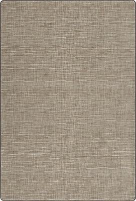 Milliken Imagine Broadcloth Silvered Taupe Area Rug; Rectangle 2'1'' x 7'8''