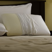 Restful Nights Restful Nights  Even Form Talalay Latex Cotton Pillow; King