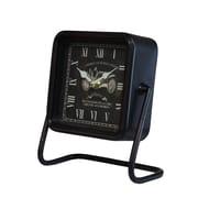 American Mercantile Metal Square Table Clock