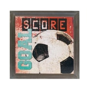 American Mercantile Wood Soccer Sign Graphic Art