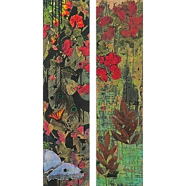 Marmont HIll 'Jungle 2-Piece Set' by Tracy Silva Barbosa Painting Print on Wrapped Canvas