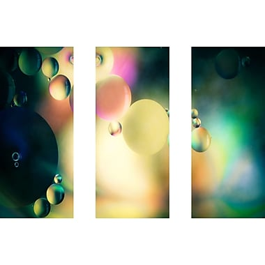Marmont HIll 'Speak To Me Triptych' Painting Print on Wrapped Canvas; 30'' H x 45'' W
