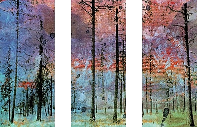 Marmont HIll 'Lost In The Forest Triptych' Painting Print on Wrapped Canvas; 40'' H x 60'' W