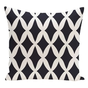 e by design Geometric Decorative Floor Pillow; Blue