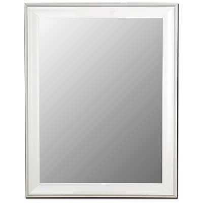 Hitchcock Butterfield Company Glossy White Grande Wall Mirror; 75.5''H x 36.5''W x 1''D