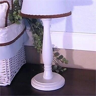 Brandee Danielle Blue Chocolate 15'' Table Lamp