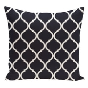 e by design Geometric Decorative Floor Pillow; Bewitching Blue