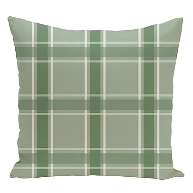 e by design Decorative Floor Pillow; Green