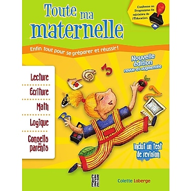 All My Kindergarten, Activity Book (French Book), New Edition