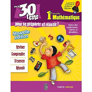 1st Year Mathematics, Activity Book (French Book), New Edition